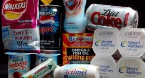 • Some of the thousands of food and drink products containing aspartame