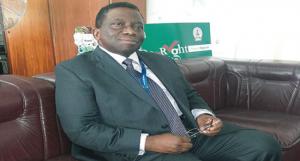 Prof. Isaac Adewole Nigeria's Health Minister