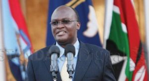 James Macharia,  Kenya's Minister of Health